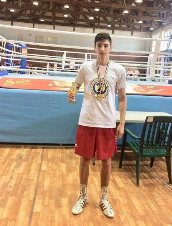 На Міжнародному турнірі з боксу студент ХДУ виборов золоту медаль