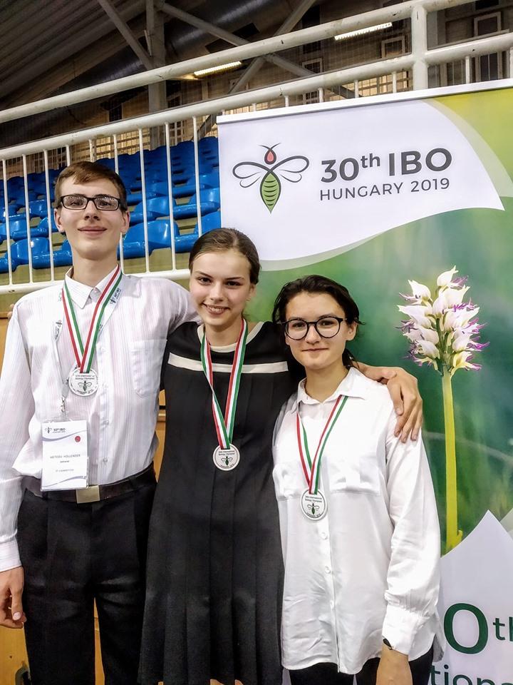 призери Міжнародної олімпіади з біології