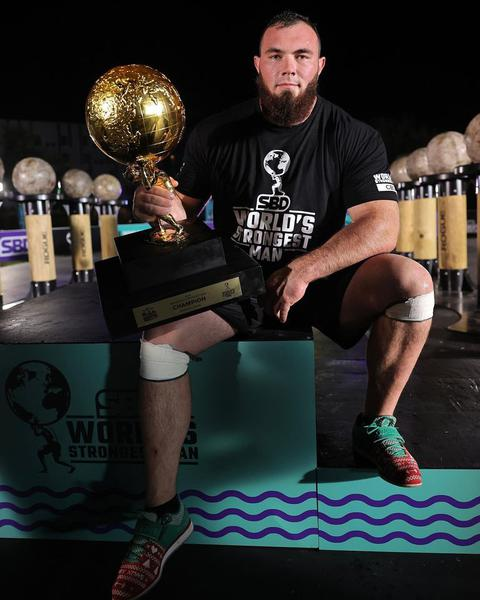 The World's Strongest Man, knute.edu.ua